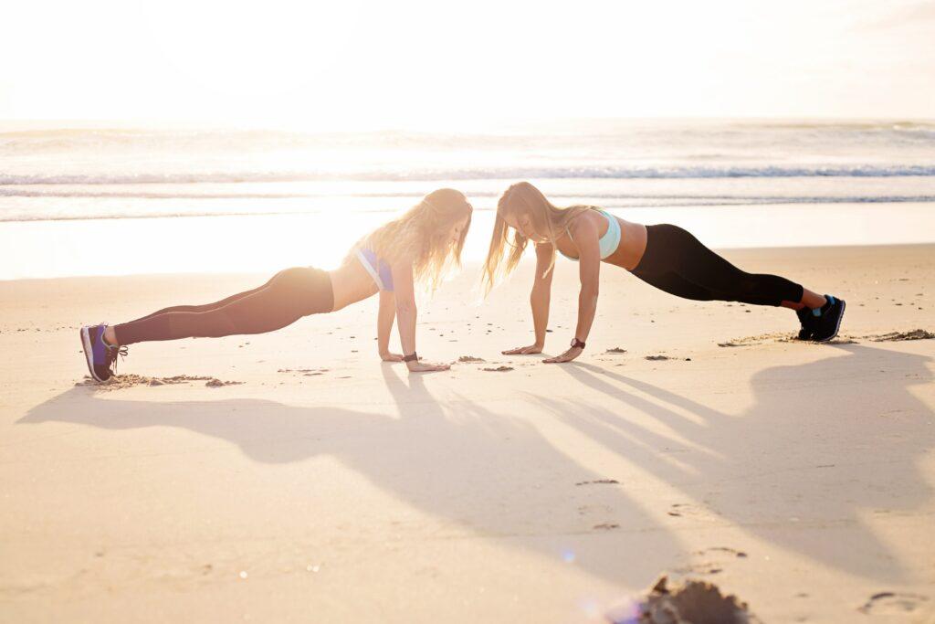 Motivace ke cvičení ve dvou znamená podporu navzájem, podržet se, vytrvat!