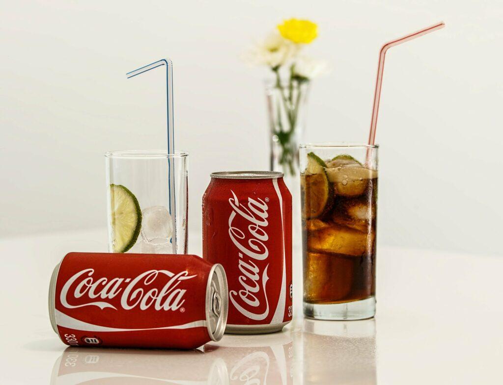 Coca cola není zrovna ideální volbou nápoje