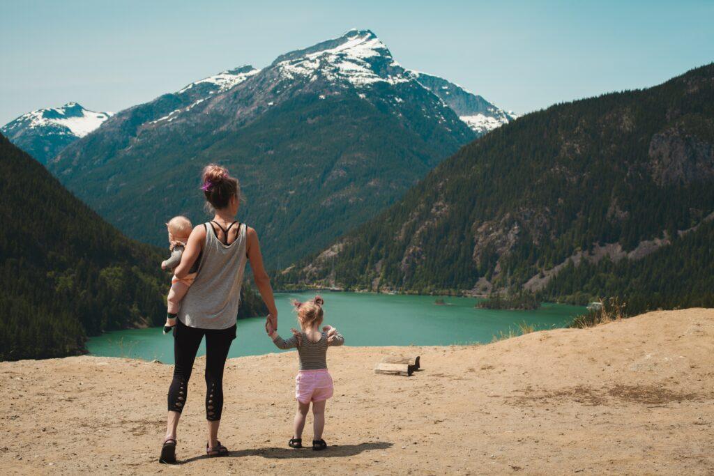 Jde to i s dětmi :) Hubmeme s dětmi při rodinném pohybu