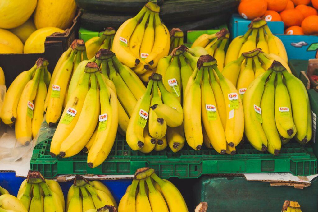Příjem draslíku si konzumací banánu zvýšíte