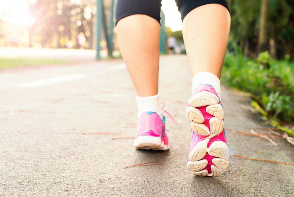 Kardio chůze a běhání pro udržení nadšení a splnění předsevzetí
