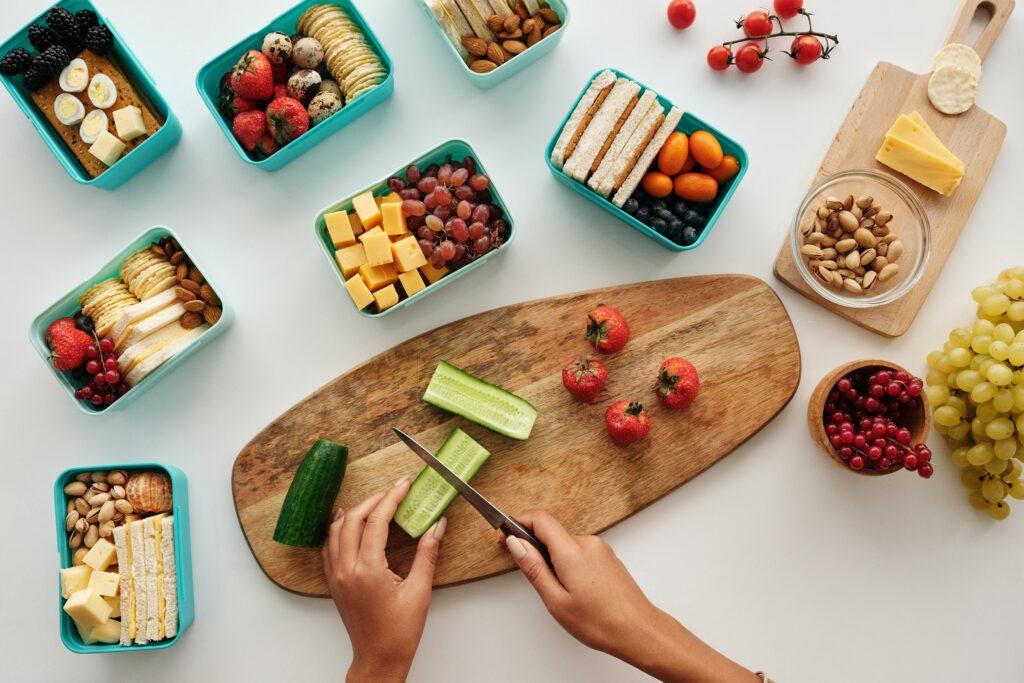 Správná a pestrá strava, když hubneme, je velmi důležitá