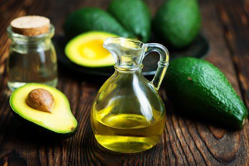 Avokádo, rostlinný olej jako zdroj pro vitamin E