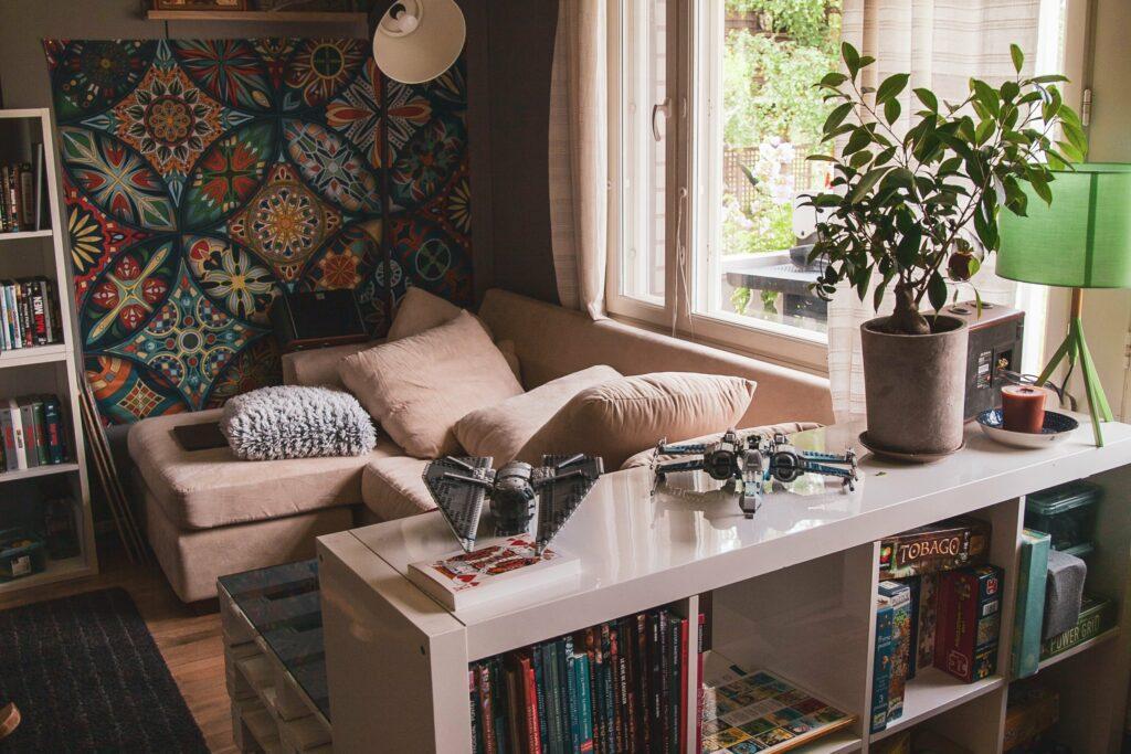Stěna je ideální místo, využit můžete ale i jiný prostor