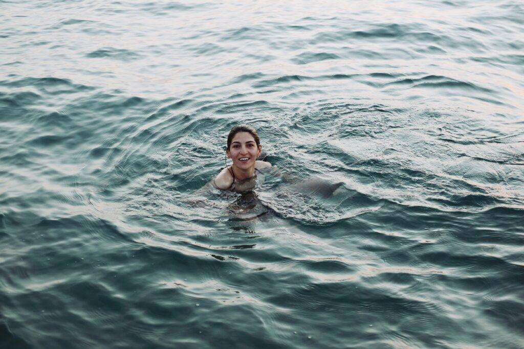 Plavání může být cestou ke smíchu a k vysněné postavě