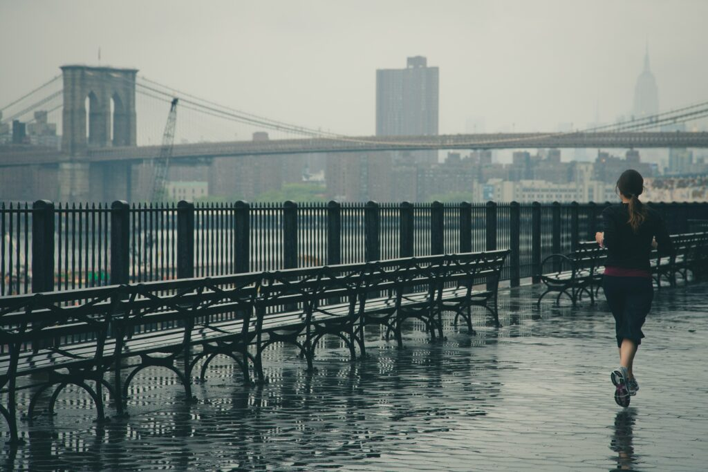 Pokud nezvládnete déle běžet, zkuste jogging