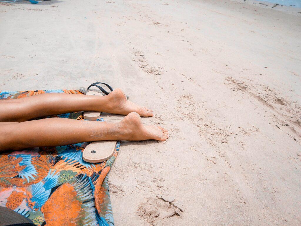 Krásné nohy bez křečových žil