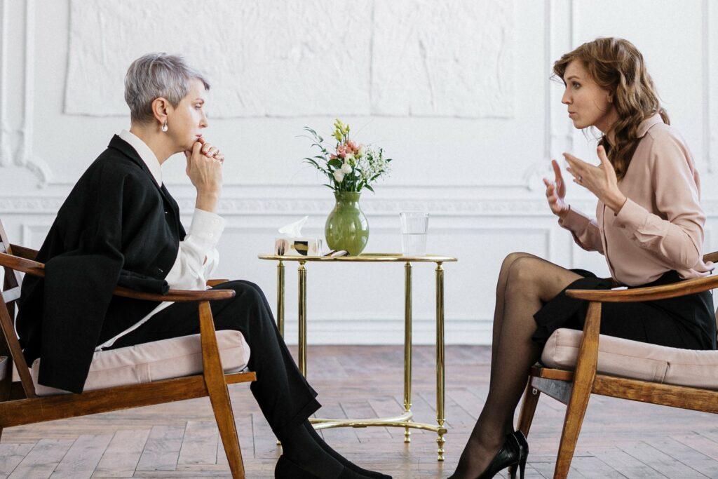 Duševní hygiena probíhá i u rozhovoru