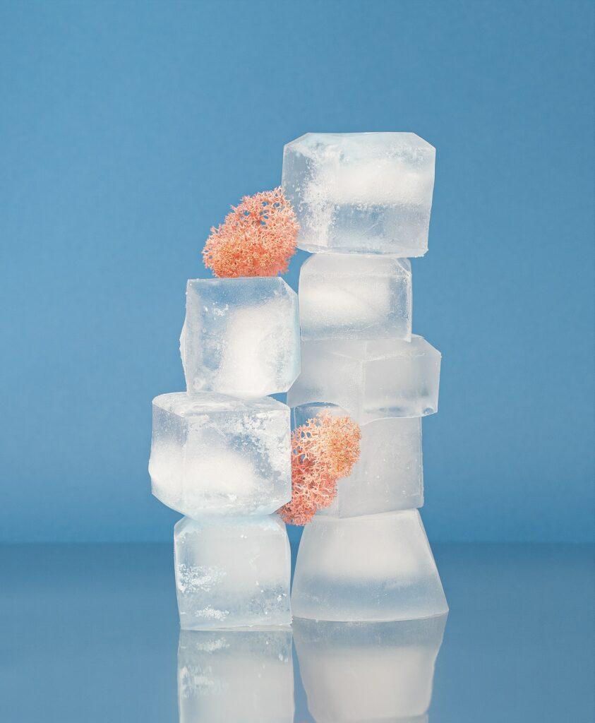 Ledové kostky se používají nejen do pití