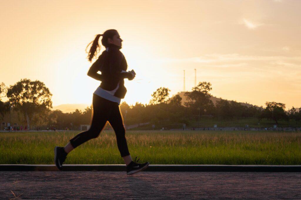 Jogging pro začátečnice